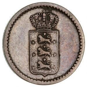Slutpris för Dansk Vestindien, 10 skilling 1845,