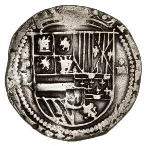 Bolivia, Philip II, 1574-1578, 4 Reales u. år, KM 4.2