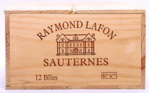 12 bts. Chateau Raymond-Lafon, Sauternes 2007 A hfin. Owc.