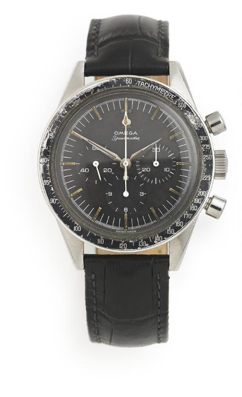 Omega: A gentleman's wristwatch of steel. Model Speedmaster, ref. 2998–5...