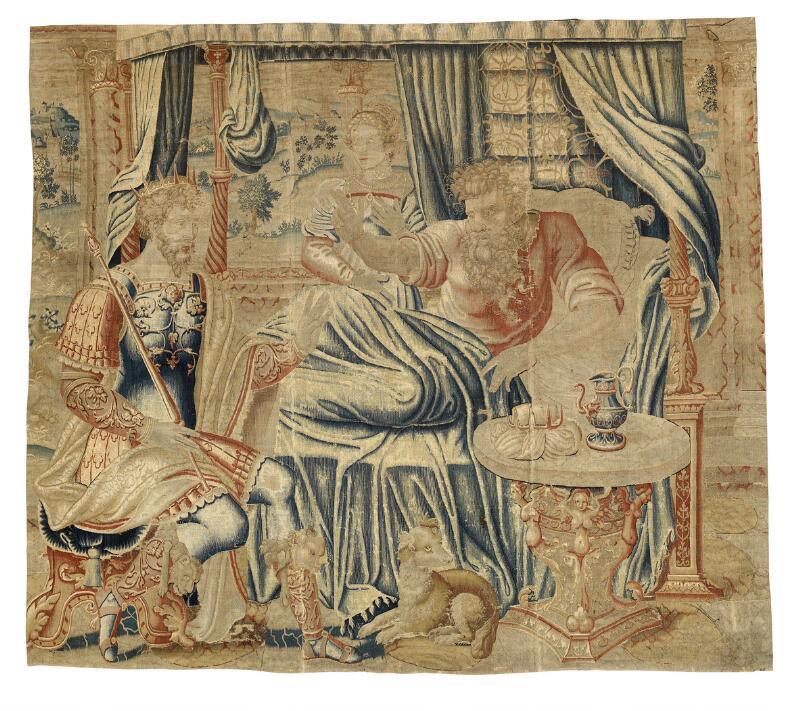 Furniture, carpets, silver, ceramics & glass