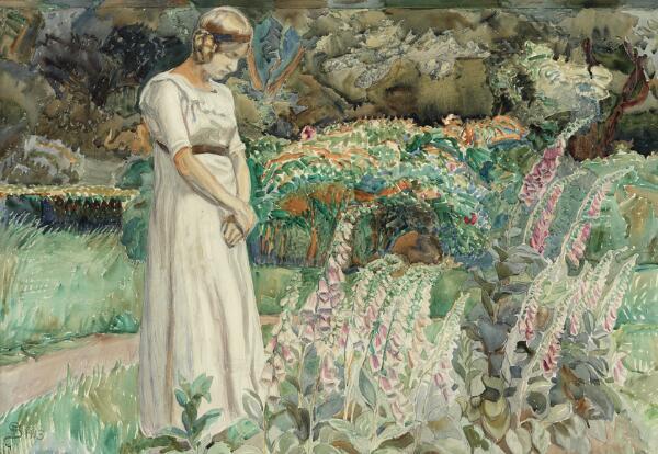 Fritz Syberg: The artist