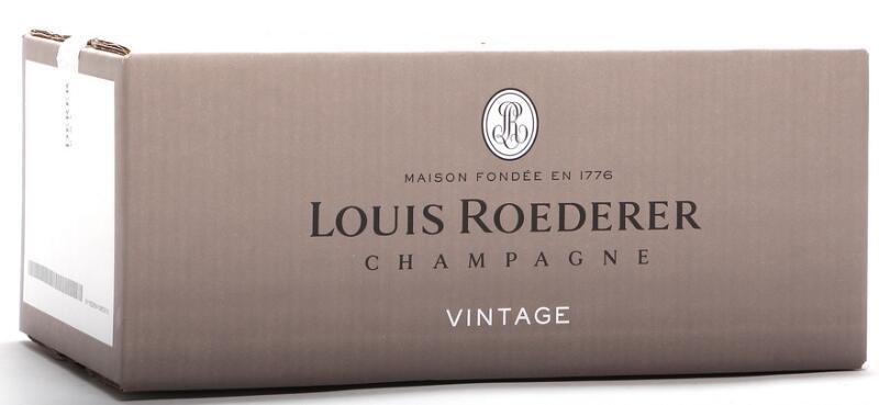 6 bts. Champagne Vintage, Louis Roederer 2012 A (hf/in). Oc.