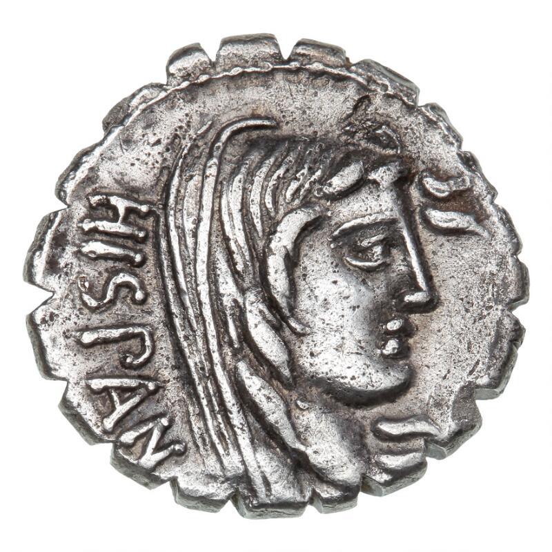 Roman Republic, A. Postumius Albinus, 81 BC, Denarius, 3.59 g, Cr. 372/2, S 297