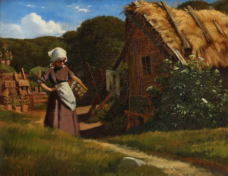 Paintings, furniture and varia